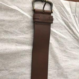 New Ralph Lauren women's brown belt size XL